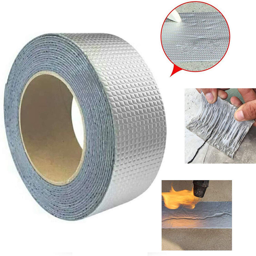 Butyl Tape Shimming Stickers Outdoor Waterproof Plugging Repair Tape Roof Tent Trapping Tape Filling Tape Sealant Adhesive Tape