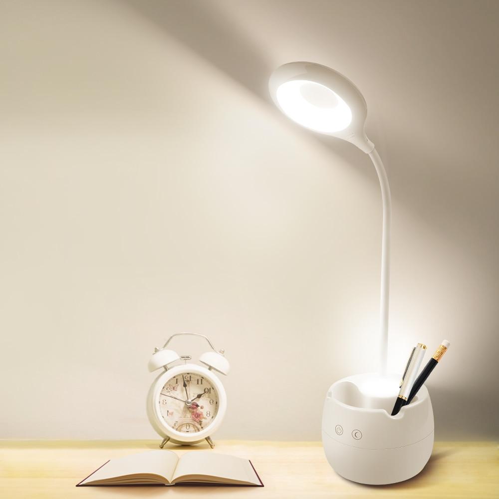 Night Lights LED With Clip Lamp Holder Table Desk Book Light Room