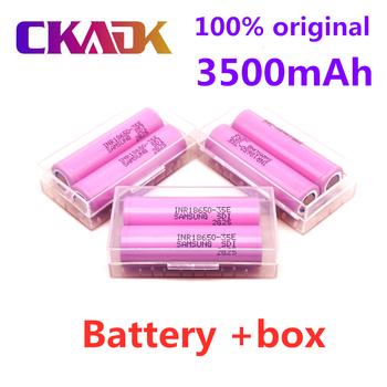1-10 100 18650 3500mah 20A rozładowania inr18650 3500mah 18650 akumulator litowo-jonowy 3 7V akumulator bateria 3500mah tanie i dobre opinie CKADK 35E 3500 mAh Li-ion NONE CN (pochodzenie) Baterie Tylko Pakiet 1