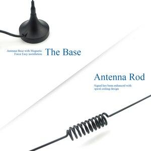 Image 4 - Auto antena radiowa fm z podstawa magnetyczna Radio samochodowe stacja radiowa antena odtwarzacz CD antena uniwersalny adapter Z133 B100DL30