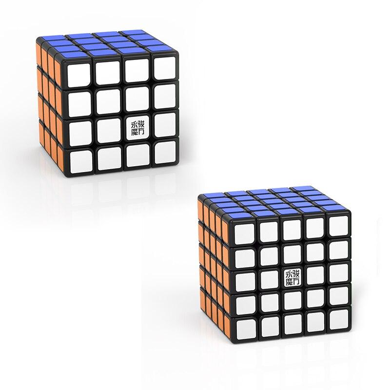 Original YJ Zhilong Mini 3x3 M 4x4 M 5x5 M Magnetic Speed Cubes Small Size YongJun Zhilong Magico Cube Puzzle Toys Magnetic Cube 13
