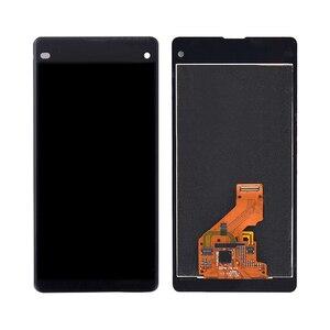 """Image 5 - 4.3 """"ORIGINAL pour SONY Xperia Z1 Compact LCD écran tactile numériseur assemblée pour Sony Z1 Mini écran avec cadre de remplacement D5503"""