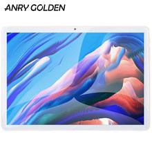 ANRY Marke Neue 4G LTE Tabletten 10,1 zoll Android 8,0 Quad Core 2 + 32GB Tablet Pc Google spielen Dual SIM GPS WiFi Bluetooth Phablet