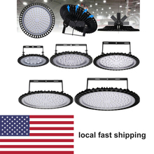 200W UFO LED High Bay Light 50W 100W garage lamp Industrial Lighting 300W 500W Super Bright for Warehouse 6000lm ip65 waterproof цена
