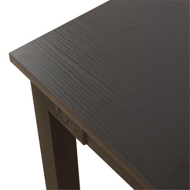 Simplistic Iron Frame Dining Table  5