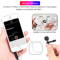 camera computer Mini USB Microphone Lapel Lavalier PC / Phone / Camera Mic Portable External Buttonhole Microphones for iPhone Laptop Computer (3)
