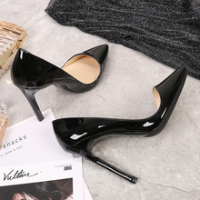 Female Shoes Pumps Stiletto Office-Work High-Heels Mouth Pointed-To Shallow Large-Size15-Dress