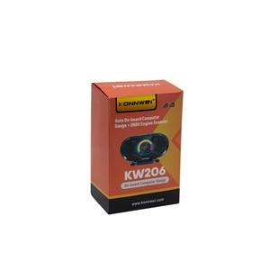 Image 2 - KONNWEI KW206 OBD2 على متن الكمبيوتر السيارات سيارة الرقمية شاشة عرض كمبيوتر استهلاك الوقود مقياس درجة حرارة الماء