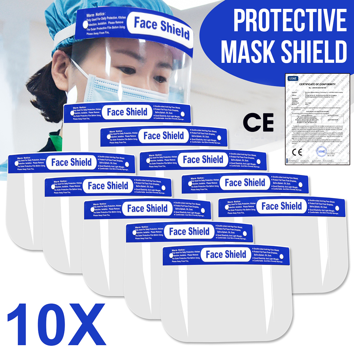 5/8/10/16/20pcs Protection Face Hat Helmet Virus Prevention Respirator Shield Spittle Safety Masks Work With Face Mouth Mask