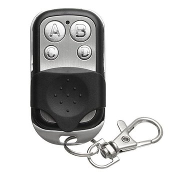 Wireless Remote Controller 4 Button Metal Keychain For Home Universal Automatic Door Remote Control free shipping 2pcs remote learning code automatic door controller with remote controller 12 36vdc ac