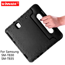 For Samsung Galaxy Tab S4 10.5 Inch Case Kids SM T830 T835 Shockproof EVA Stand kids Cover for 2018 Fundas