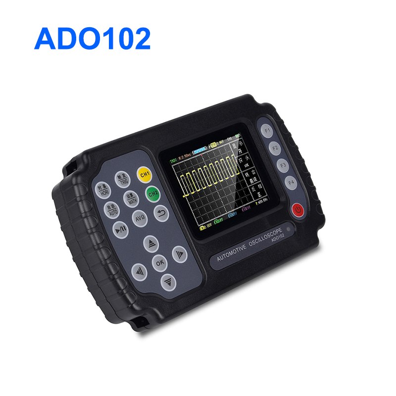 ADO102 Digital <font><b>Oscilloscope</b></font> <font><b>10MHz</b></font> Bandwidth 100MSa/s With Housing Handheld Portable Digital <font><b>Oscilloscope</b></font> With Probe USB portable image