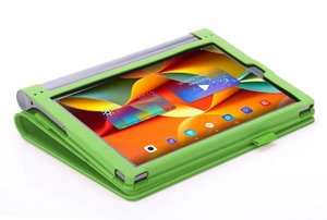 Image 2 - Case Voor Lenovo Yoga Tab3 Tab 3 Plus YT X703F / Yoga3 X90 Pro X90F / L 10.1 Inch Tablet Hoge kwaliteit Flip Stand Leather Cover