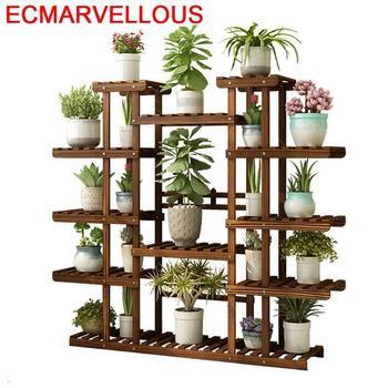 Plantenstandaard, Estante, Plantas Para Macetas, estantería Para decoración de flores al aire...