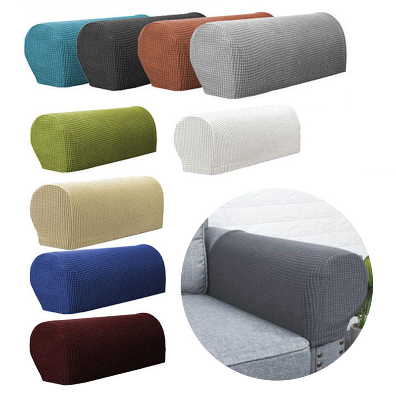 1 Pair Removable Sofa Armrest Covers Sofa Towel Sofa Couch Chair Protector Armchair Covers Eco-Friendly Practical Tool Rectangle