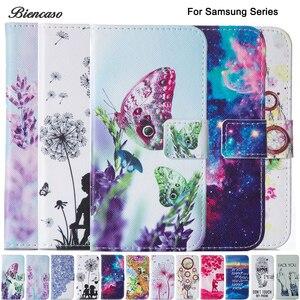 Case For Samsung GALAXY J3 J1 2016 J120 A5 A7 2016 A510 A710 S3 S4 S5 S6 S7 Edge S8 Plus J1 Mini Wallet Flip PU Leather Cover