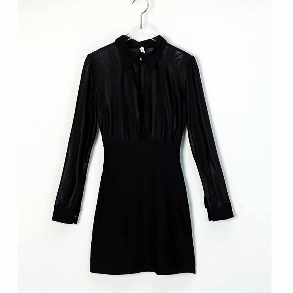 Модное женское платье с длинным рукавом из прозрачной сетки в полоску, лоскутное облегающее Повседневное платье для работы, облегающее эластичное облегающее вечернее платье Vestidos