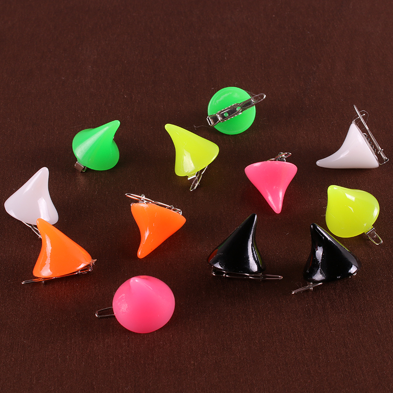 1 Pair Candy Color Halloween Devil Horn Hairpin Girls Harajuku Gothic Cosplay Costume Hair Accessories Clip