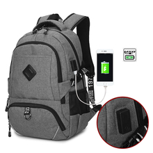 30L Men Waterproof Backpacks USB Charging Knapsack Man Travel Sports Bags Backpack Casual Computer Backpack For Students Boy
