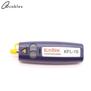 10mw Mini Handheld VFL Optical Fiber Cable Tester fibra optica FTTH Break Checker 12Km Range 650+10nm Visual Fault Locator - discount item  9% OFF Communication Equipment