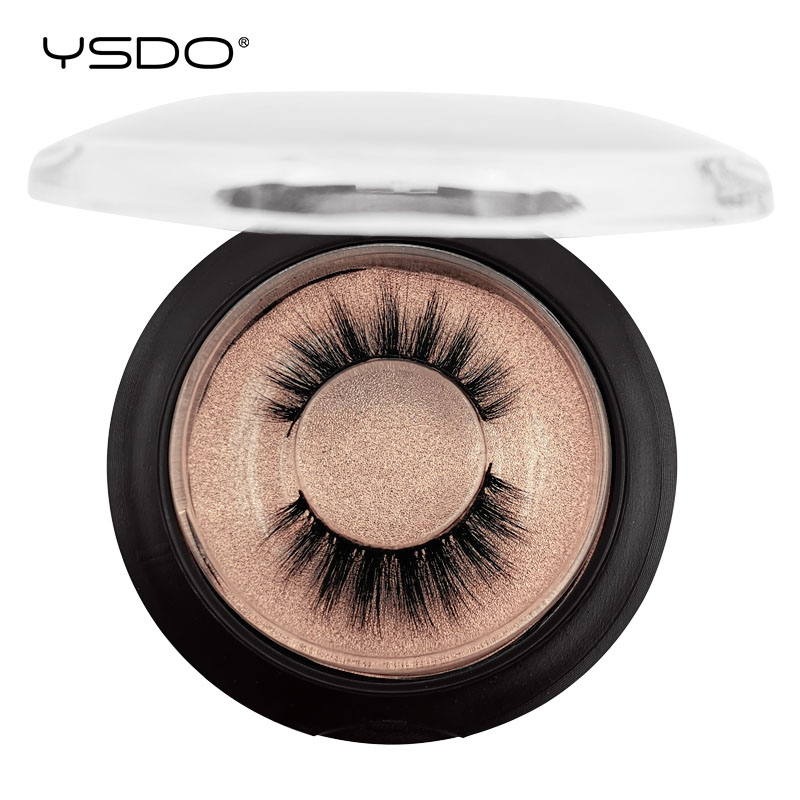 YSDO 1 Pair False EyeLashes Natural Human Hair Lashes 3D Mink 14MM EyeLashes  Handmade Mink Lashes MakeupLashes 1 Box Lashes