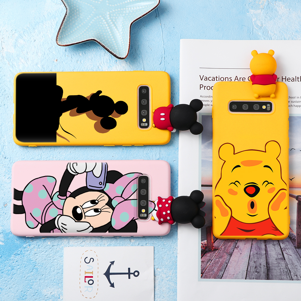 Cartoon Doll Phone Case For Samsung Galaxy A70 A40 A50 A10 A10e A20e A50S A30S S10 S9 S8 J6 A6 A8 Plus 2018 Silicon Capa Celular