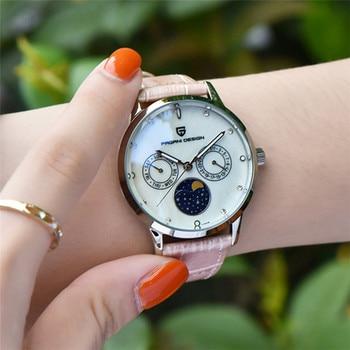 PAGANI DESIGN Original uxury brand women watches creative fashion gold ladies Quartz watch multifunction Woman Bracelet watches