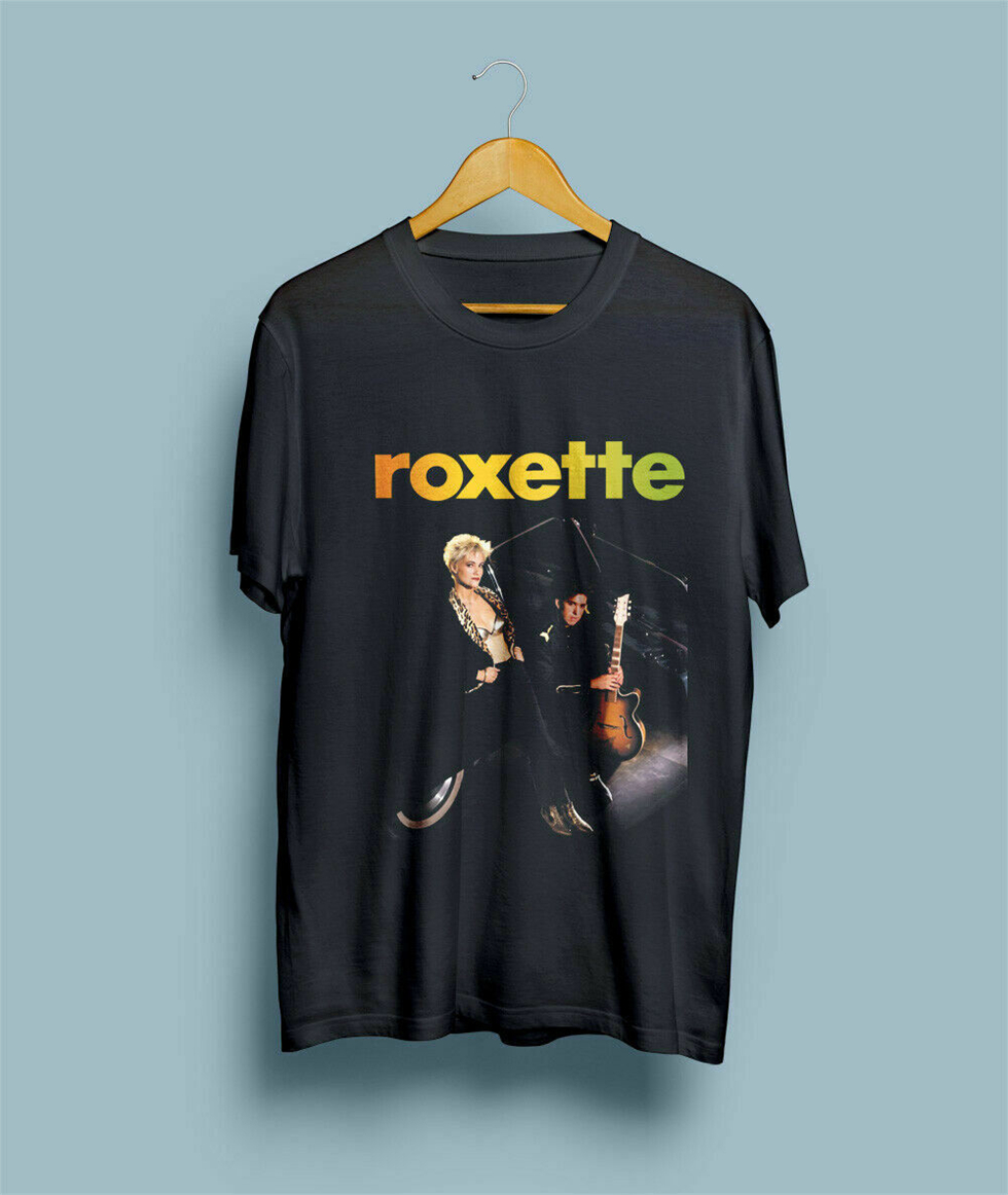 Roxette Join The Joyride Pop Rock Band Men'S T-Shirt Size S-3Xl High Quality Casual Printing Tee Shirt