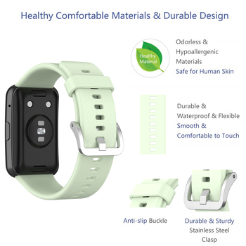 Strap For Huawei Watch Fit Band For Huawei Smart Watch Fit 2020 Strap With TPU Soft Protective Cover Full Screen Protector Case 2