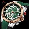 REWARD Men Quartz Watches Business Dress Waterproof Wristwatch Men Luxury silicone Sports watch men Gifts Montre homme 1