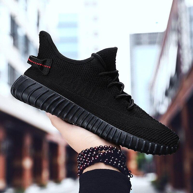 Nova malha dos homens sapatos casuais lac-up sapatos masculinos leve confortável respirável tênis de caminhada tenis feminino zapatos 45 46