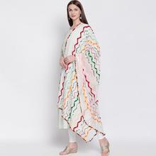 Spring Summer India Sarees Woman Fashion Ethnic Styles Embroidery Scarf Dupattas Beautiful Colour Comfortable Shawl
