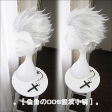 Fate/Stay Night Emiya Shirou Archer Cosplay Pruik Korte Silver Grey Hittebestendig Fiber Hair Pelucas Anime Kostuum rollenspel Pruiken(China)