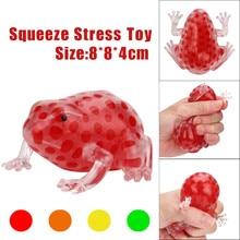 Детские мягкие антистрессовые игрушки, новинка, Веселый шарик для снятия стресса, липкий сдавливающий пенополистирол, лягушки для снятия стресса, сжимающие игрушки
