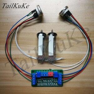 Image 3 - Kit de placa de controlador de ojo de gato de tubo Dual 6E2, amplificador DIY