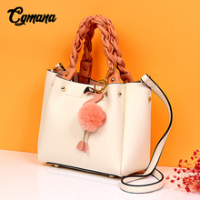 Cowhide Handbag Women 2019 Genuine Leather Bag Women Handbags Luxury Brand Designer Women Messenger Bags Crossbody Shoulder Bag 100%genuine leather handbags women crocodile handbag messenger shoulder bags first layer cowhide leather zipper party bag purple