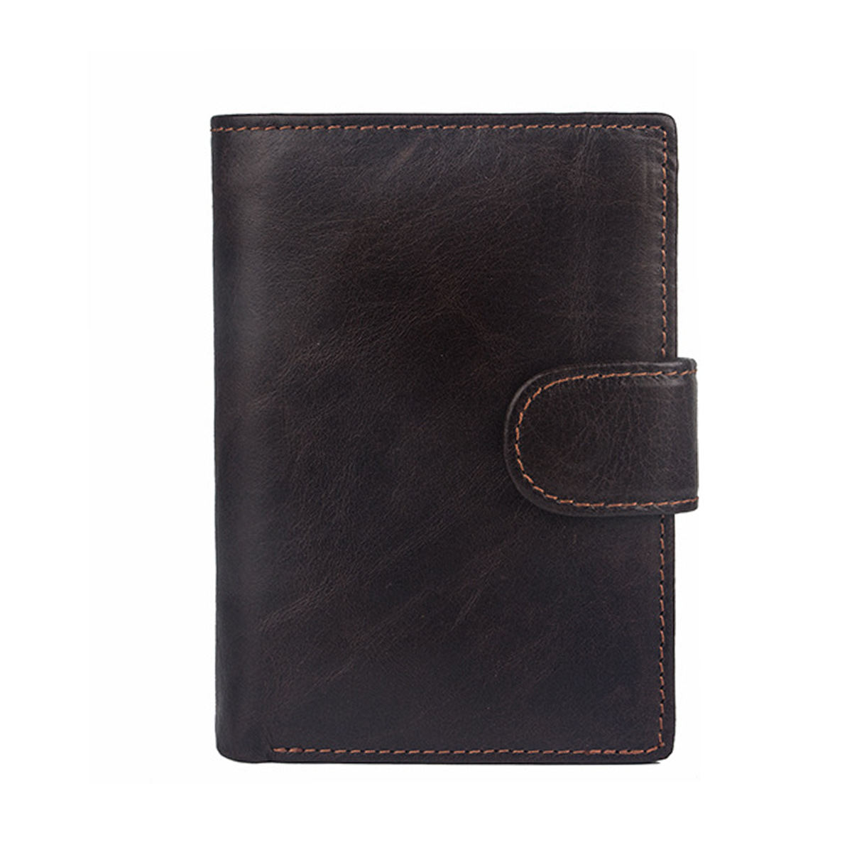 Genuine Leather Wallet Men with Card Holder Card Holder Coin Purse Men's High-quality Classic Retro Foldable Wallet  Purses man