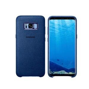 Image 3 - Funda de cuero de ante para Samsung S8, Protector completo a prueba de golpes para Galaxy S8, S8 Plus