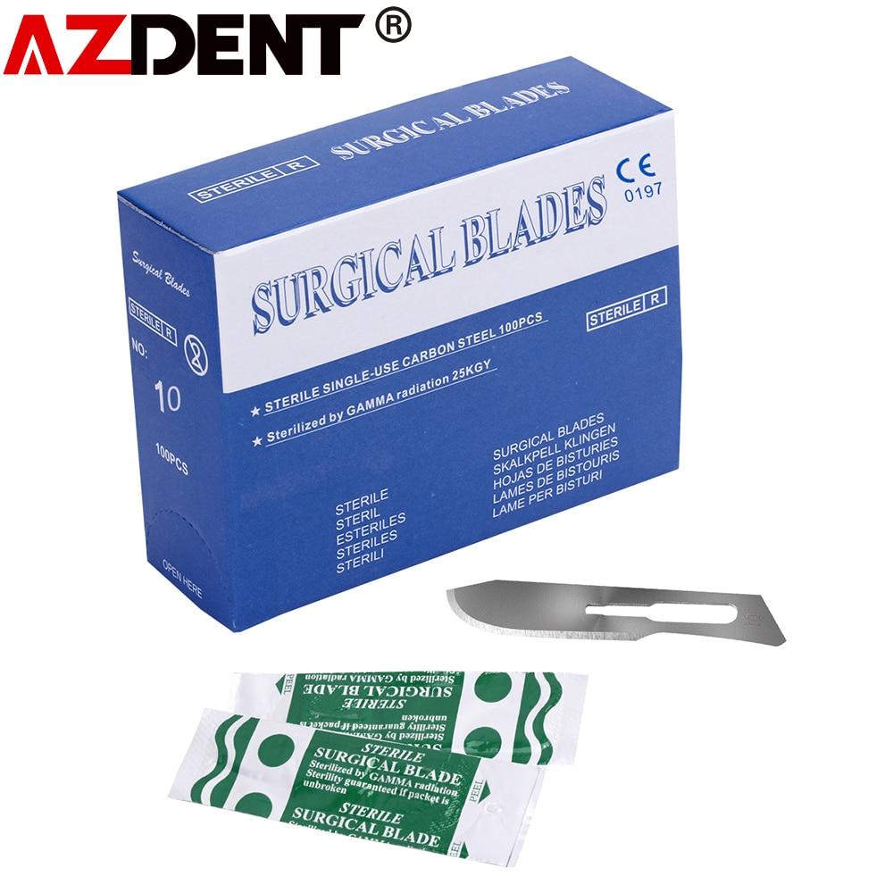 100pcs Scalpel Blades Dental medical Surgical Scalpel Blades Surgical Blade dental Surgical Scalpel