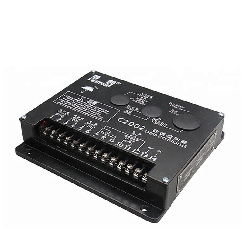 C2002 Speed controller diesel engine electromechanical control board electronic intelligent DC motor governor