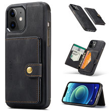 Magnetic Wallet Leather Phone Case For iPhone 12 Pro Max Card Holder Shockproof Cover For iPhone 11 Pro XR X XS Max 7 8 Plus