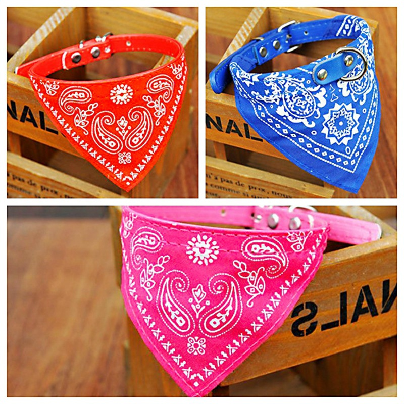 Pet Triangular Scarf Dog Scarf Dog Collar Gou Ling Jin Collar Neck Cute Dog Bibs Dog Scarf