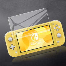 Screen-Protector-Film-Set Switch-Lite-Accessories Tempered-Glass with Free-Tools 1pcs