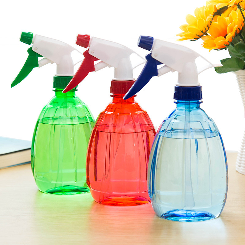 1245 Gardening Tools Candy-Colored Watering Can Watering Pot Sprinkling Can Hand Pressing Type Spray Bottle Succulent Spray Slee