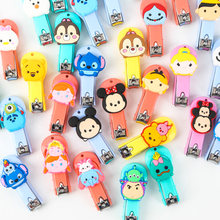 29Different Cartoon Mickey Minnie Mouse Stich Donald Duck Action Figure Dolls Toy Cute Cartoon Nail Clippers Gifts for Kids(China)