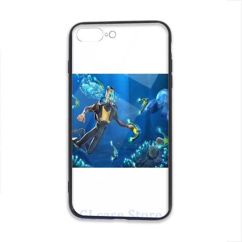 Subnautica Phone Case For iPhone 12 Pro 11 X XR XS Max 8 7 6 6s Plus 5s Soft TPU Glass Back Cover