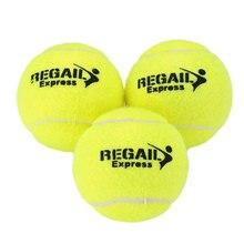 Тренировочный теннисный мяч высокой эластичности ванильный Зеленый Универсальный