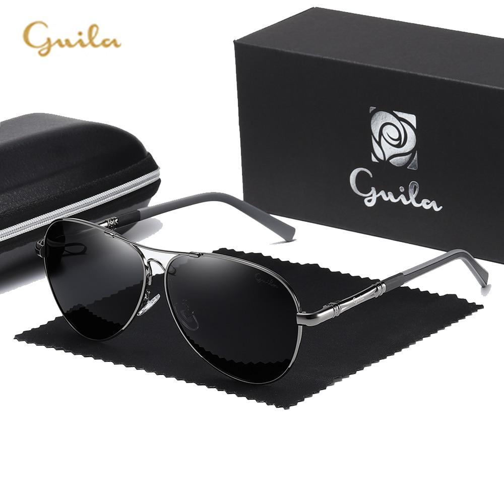 Gui LA Brand Polarized Sunglasses Men New Fashion Eyes Protect Sun Glasses With Accessories Unisex driving goggles oculos de sol
