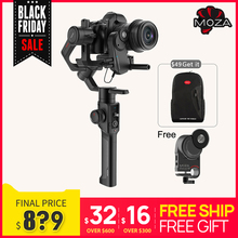 موزا الهواء 2 3 محور مثبت كاميرا ل DSLR Mirrorless كاميرا كانون 5D2/3/4 مضاعفات متابعة التركيز AIR2 vs Feiyu AK4000 DJI Ronin S