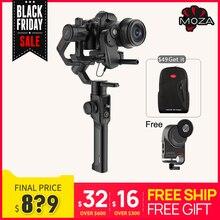Moza powietrza 2 3 Axis stabilizator kamery dla lustrzanek cyfrowych DSLR kamera usb Canon 5D2/3/4 Servo Follow Focus AIR2s postawy polityczne w Feiyu AK4000 DJI Ronin S